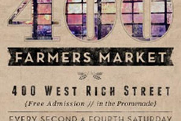 Flyer for STEAM at 400 West Rich Market