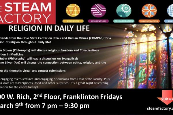 March Franklinton Friday Flyer, Religion in Daily Life