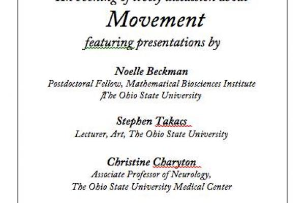 Flyer for November STEAM Exchange Meeting - Topic: Movement